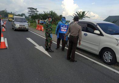 Tim Gabungan Posko Chek Poin Wilayah Pengecekan Kendaraan