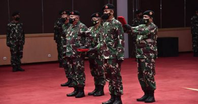 Panglima TNI Pimpin Penyerahan Jabatan Dansesko, Dankodiklat danSertijab Asops Panglima, Kapuspen serta Kapusjarah