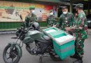 Wilayah Kokap, Sentolo dan Girimulyo Menjadi Sasaran Dari Dapur Umum Kodim Diponegoro Berbagi