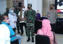 TinjauSerbuanVaksinasi Covid-19 di Cilacap, Panglima TNI Ingatkan Protokol Kesehatan